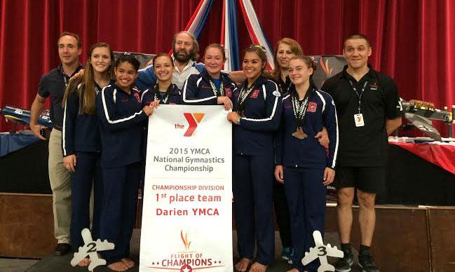 Darein YMCA Gymnastics Team 2015 National Champions